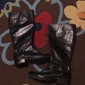 EUC Lauren Ralph Lauren Leather Boots